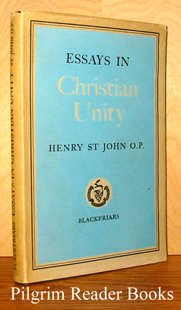 Image for Essays In Christian Unity, 1928 - 1954.