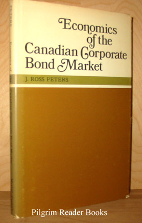 Image for Economics Of The Canadian Corporate Bond Market.