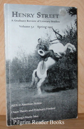 Image for Henry Street: A Graduate Review Of Literary Studies. Volume 5.1 Spring 1995.