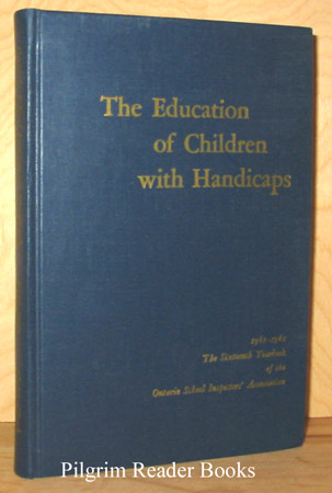 Image for The Education of Children with Handicaps, 1960-1961.