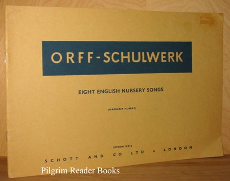 Image for Orff-Schulwerk: Eight English Nursery Songs.