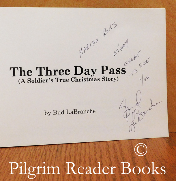 Image for The Three Day Pass. (A Soldier's True Christmas Story).
