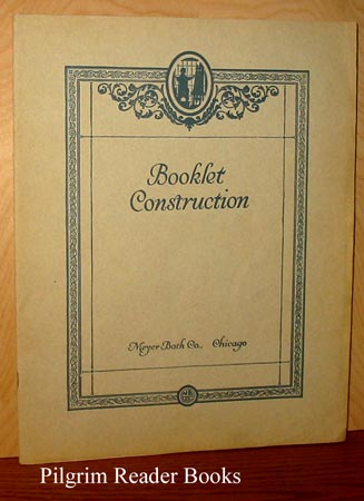 Image for Booklets, Catalogs, Folders and Broadsides: Their Construction and Design.