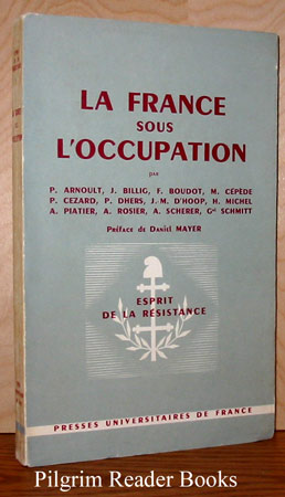 Image for La France sous l'Occupation. (Esprit de la Resistance).