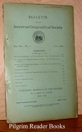 Image for Bulletin of the American Geographical Society: Vol. XLI, No. 7, July 1909.