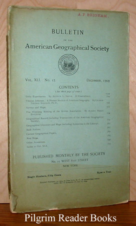 Image for Bulletin of the American Geographical Society: Vol. XLI, No. 12, December 1909.