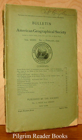 Image for Bulletin of the American Geographical Society: Volume XXXIV, No. 1, February, 1902.
