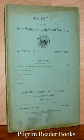 Image for Bulletin of the American Geographical Society: Volume XXXVIII, Number 3, February 1906.