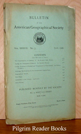 Image for Bulletin of the American Geographical Society: Volume XXXVIII, Number 7, July 1906.