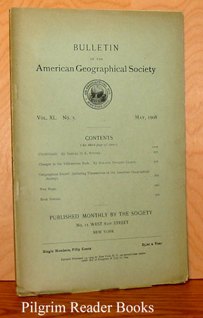 Image for Bulletin of the American Geographical Society: Volume XL, Number 5, May 1908.
