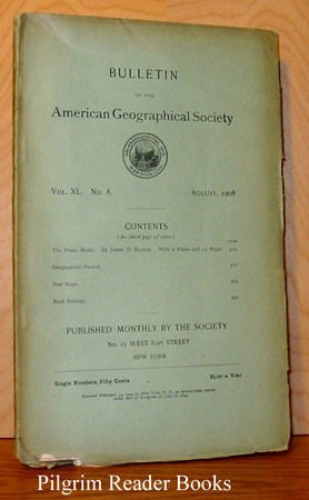 Image for Bulletin of the American Geographical Society: Volume XL, Number 8, August 1908.