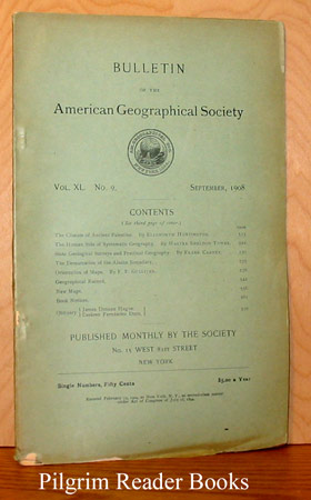 Image for Bulletin of the American Geographical Society: Volume XL, Number 9, September 1908.