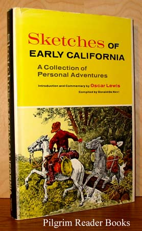 Image for Sketches of Early California: A Collection of Personal Adventures.