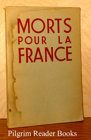 Image for Morts Pour la France: Lettres de condamne a mort.