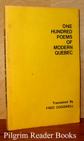 Image for One Hundred Poems of Modern Quebec.