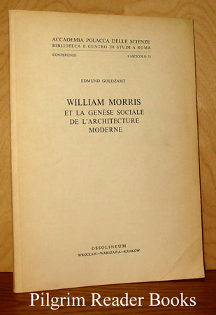 Image for William Morris et la genèse sociale de l'architecture moderne.