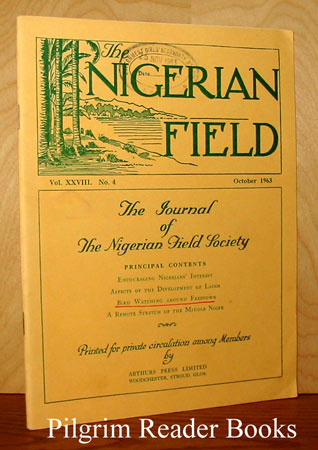 Image for The Nigerian Field, Vol. XXVIII: No. 4, October, 1963.