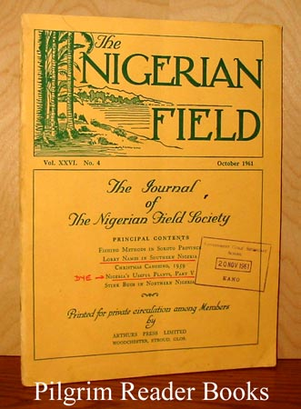 Image for The Nigerian Field, Vol. XXVI: No. 4, October, 1961.