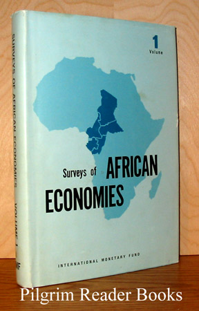 Image for Surveys of African Economies. Volume 1. Cameroon, Central African Republic, Chad, Congo, (Brazzaville), Gabon.