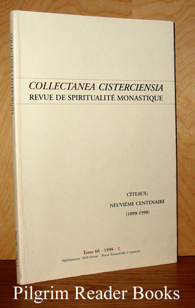 Image for Collectanea Cisterciensia: Revue de Spiritualite Monastique. Tome 60, #1, 1998.