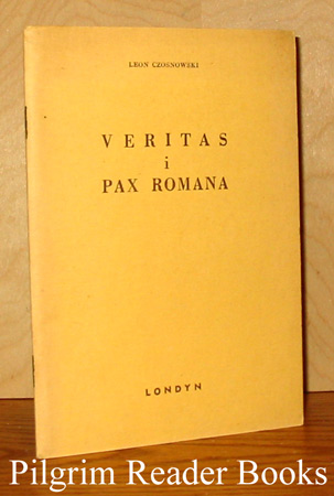 Image for Veritas i Pax Romana.