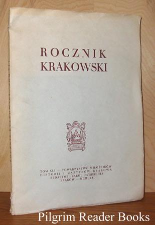 Rocznik Krakowski, Tom XLI.