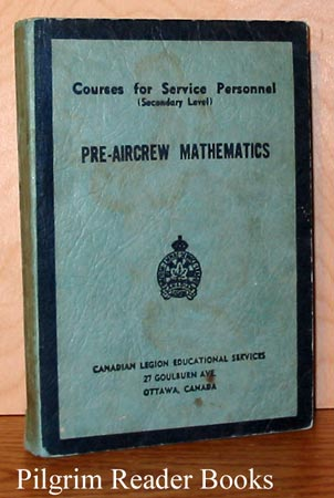 Image for Pre-Aircrew Mathematics; Courses for Service Personnel, Secondary Level.