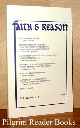 Image for Faith & Reason: Volume XI, Number 3 / 4. 1985.