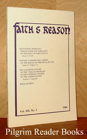 Image for Faith & Reason: Volume XII, Number 1. 1986.
