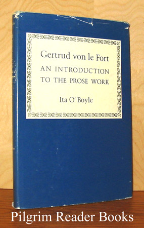 Image for Gertrud von le Fort: An Introduction to the Prose Work.