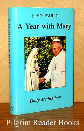 Image for A Year With Mary, Daily Meditations.