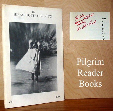 Image for The Hiram Poetry Review: Issue Number 7, Fall - Winter 1969.