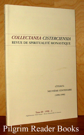 Image for Collectanea Cisterciensia: Revue de Spiritualite Monastique. Tome 60, #2, 1998.
