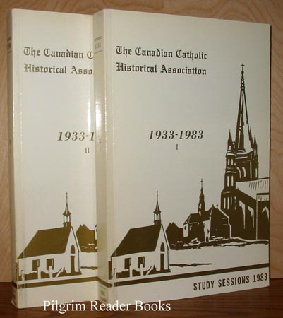 Image for The Canadian Catholic Historical Association; Study Sessions 1983, 2 Volumes.