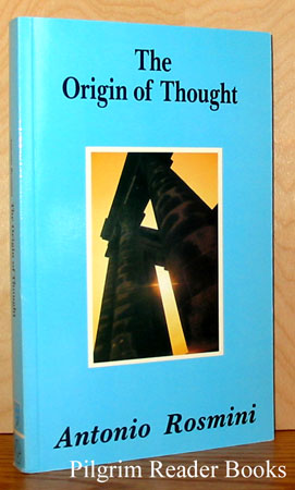 Image for The Origin of Thought: A New Essay on the Origin of Ideas.