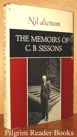 Image for The Memoirs of C. B. Sissons.