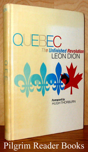 Image for Quebec, The Unfinished Revolution.