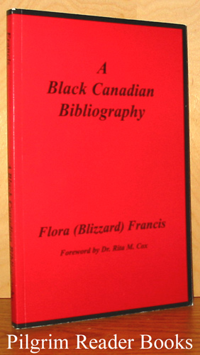 Image for A Black Canadian Bibliography.