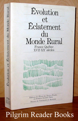 Image for Evolution et Eclatement du Monde Rural.