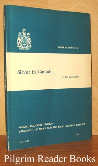 Image for Silver in Canada: Mineral Survey #3.