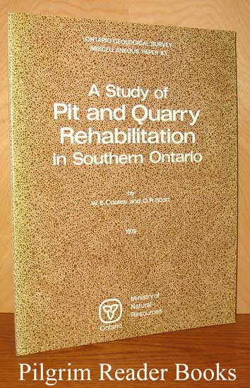 Image for A Study of Pit and Quarry Rehabilitation in Southern Ontario.