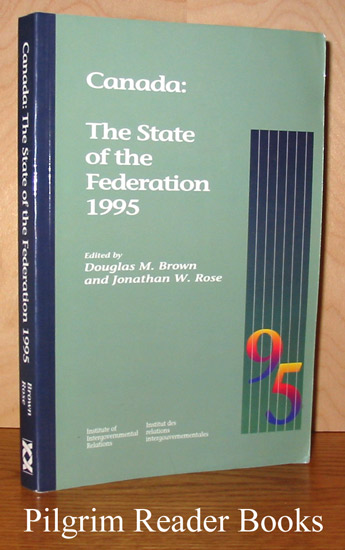 Image for Canada: The State of the Federation 1995.