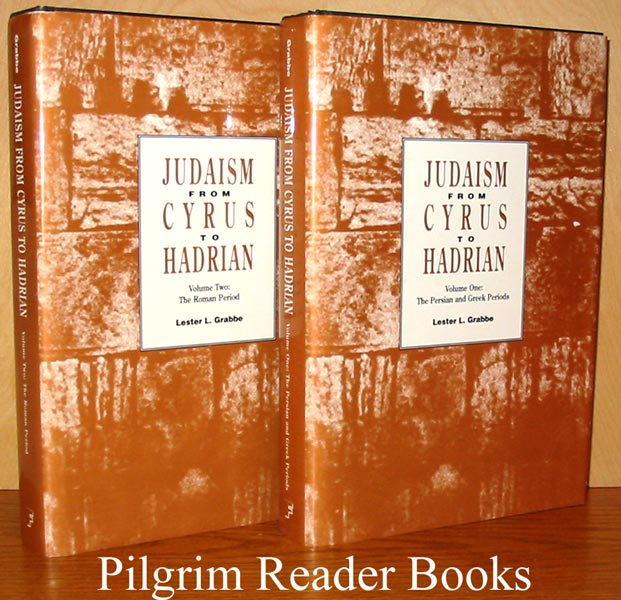 Image for Judaism From Cyrus to Hadrian; Vol. I: The Persian and Greek Periods, Vol. II: The Roman Period