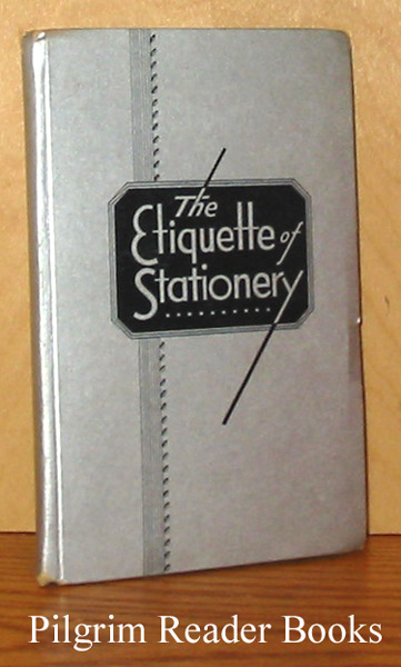 Image for The Etiquette of Stationery