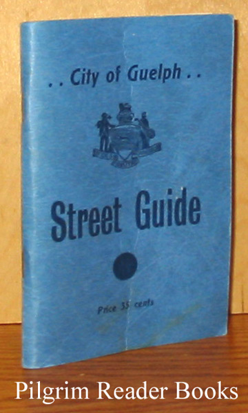 Image for City of Guelph Street Guide