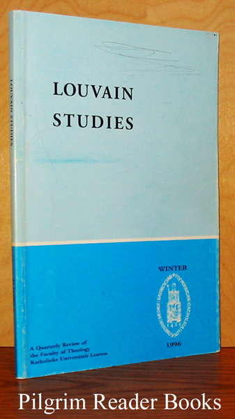 Image for Louvain Studies, Volume 21, Number 4, Winter 1996.