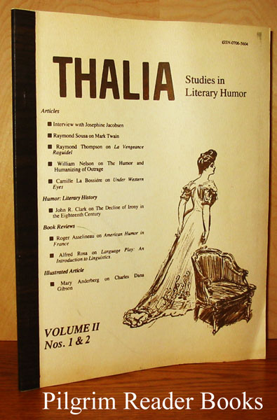 Image for Thalia: Studies in Literary Humor. Volume II, Nos. 1 & 2. Spring-Fall 1979.