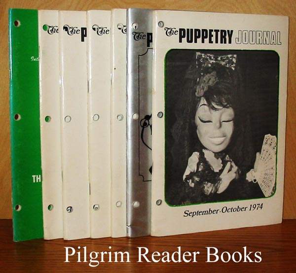 Image for The Puppetry Journal: assorted issues,1974 and 1975. (7 in all).