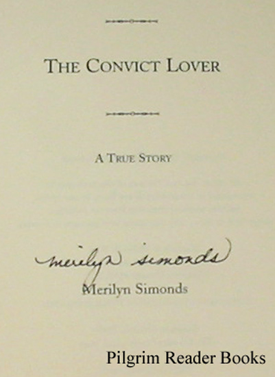 Image for The Convict Lover. A True Story.