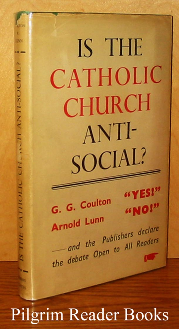 Image for Is the Catholic Church Anti-Social? A Debate.